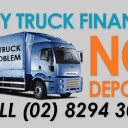 No Deposit Truck Finance - 1800 88 5626